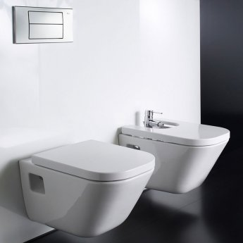 Roca The Gap Wall Hung Pan 540mm Projection - Excluding Seat