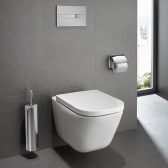 Roca The Gap Rimless Wall Hung WC Pan - White