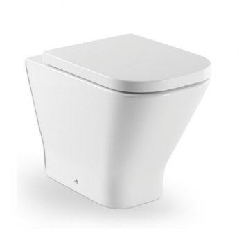 Roca The Gap Back to Wall Toilet, 540mm Projection, Soft Close Seat