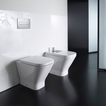 Roca The Gap Back to Wall Toilet, 540mm Projection, Standard Seat