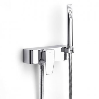 Roca Thesis Shower Mixer Valve with Kit - Chrome