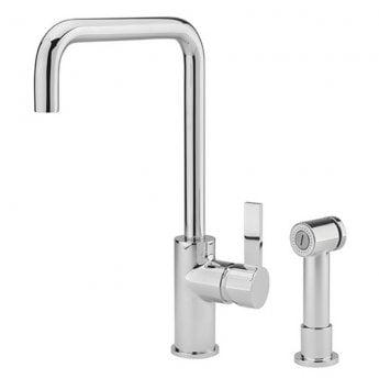 Sagittarius Bergamo Monobloc Kitchen Sink Mixer Tap with Pull-Out Handset - Chrome