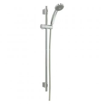 Sagittarius Breeze Shower Slider Rail Kit, Adjustable, Chrome