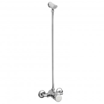 Sagittarius Exposed Non Concussive Mixer Shower with Shower Kit - Chrome