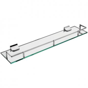 Sagittarius Madison Gallery Glass Shelf Chrome