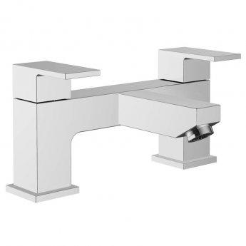 Signature Picola Bath Filler Tap Pillar Mounted - Chrome