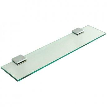 Sagittarius Rimini Glass Shelf, Chrome