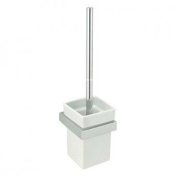 Sagittarius Rimini Toilet Brush Holder, Chrome