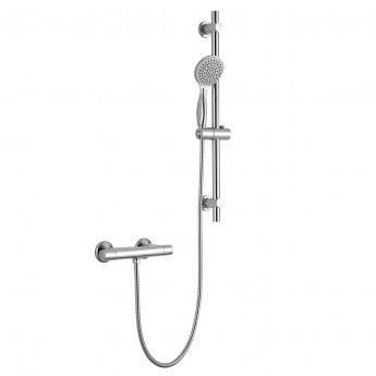 Sagittarius Roma Bar Mixer Shower with Shower Kit - Chrome