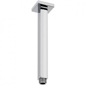 Sagittarius Cube Square Ceiling Mounted Arm 240mm Length - Chrome