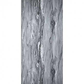 Showerwall Proclick MDF Shower Panel 600mm Wide x 2440mm High - Grey Volterra Texture