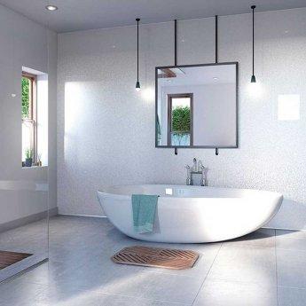 Showerwall Proclick MDF Shower Panel 600mm Wide x 2440mm High - Luna
