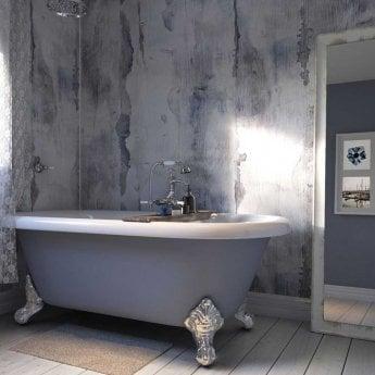 Showerwall Proclick MDF Shower Panel 600mm Wide x 2440mm High - Nautical Wood