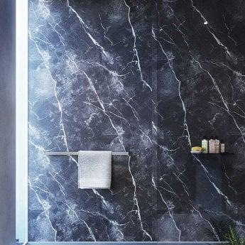Showerwall Proclick MDF Shower Panel 600mm Wide x 2440mm High - Phantom Marble