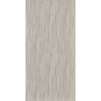 Showerwall Proclick MDF Shower Panel 600mm Wide x 2440mm High - White Charcoal