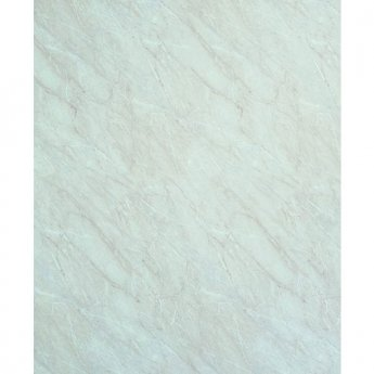 Showerwall Straight Edge Waterproof Shower Panel 1200mm Wide x 2440mm High - Ivory Marble
