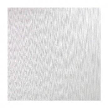 Showerwall Straight Edge Waterproof Shower Panel 900mm Wide x 2440mm High - Linea White