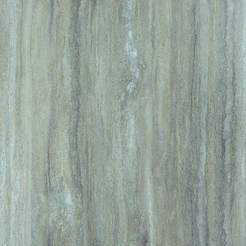 Showerwall Straight Edge Waterproof Shower Panel 1200mm Wide x 2440mm High - Silver Travertine