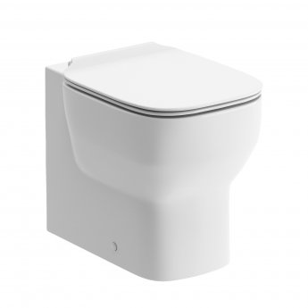 Signature Achilles Back To Wall Toilet 365mm Wide - Soft Close Seat