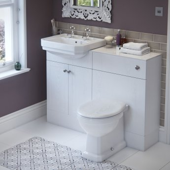 Signature Aphrodite Back To Wall Toilet 380mm Wide - Soft Close Seat