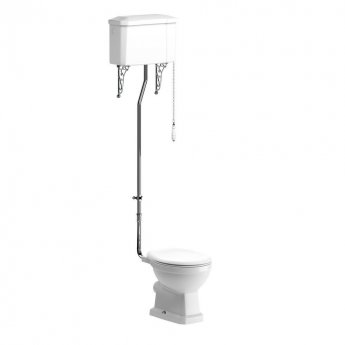 Signature Aphrodite High Level Toilet with Cistern - Soft Close Seat