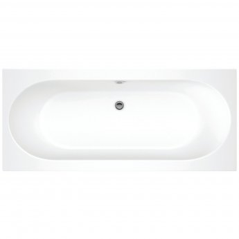 Signature Apollo Rectangular Double Ended Bath 1600mm x 750mm - 0 Tap Hole