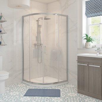 Signature Classix Double Door Quadrant Shower Enclosure 800mm x 800mm - 6mm Glass