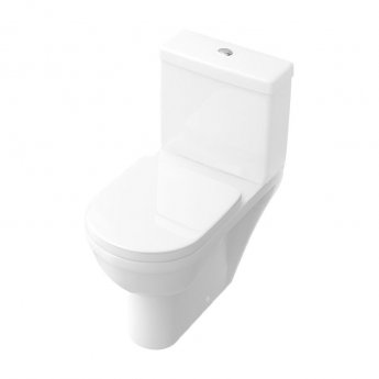 Signature D-Style Close Coupled Toilet with Dual Flush Cistern