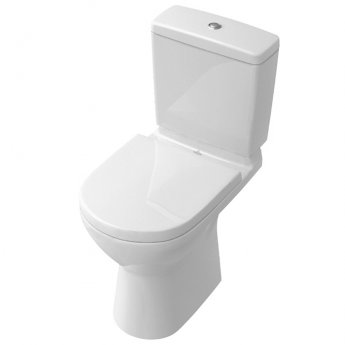Signature D-Style Lite Close Coupled Toilet with Dual Flush Cistern