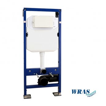 Signature Easi-Plan Wall Hung WC Frame with Dual Flush Cistern 1185mm H