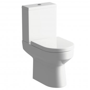 Signature Inca Close Coupled Toilet with Cistern - Soft Close Seat
