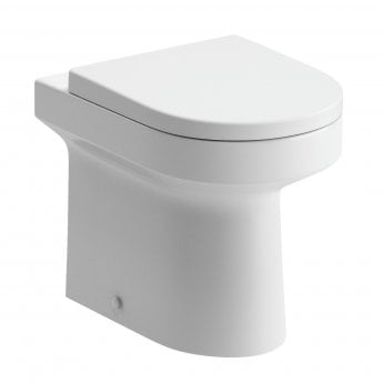 Signature Inca Back To Wall Toilet 370mm Wide - Soft Close Seat