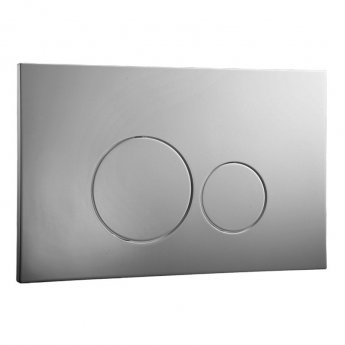 Signature Easi-Plan ISO 2 Dual Flush Plate - Chrome