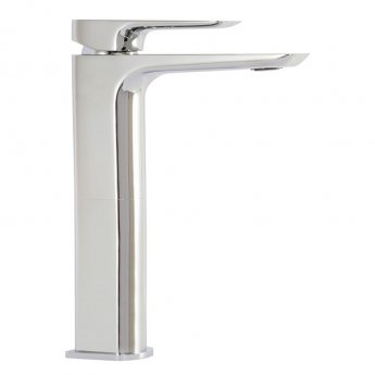 Signature Logic Tall Mono Basin Mixer Tap Single Handle - Chrome