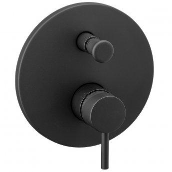 Signature Maira Manual Concealed Shower Valve with Diverter Single Handle - Black