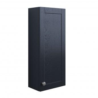 Signature Malmo Wall Hung 1-Door Storage Unit 300mm Wide - Indigo Ash