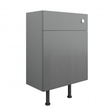 Signature Malmo Back to Wall WC Toilet Unit 600mm Wide - Grey Ash