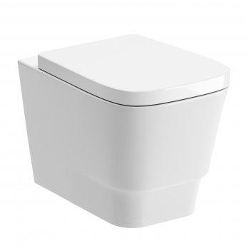 Signature Maya Wall Hung Toilet - Soft Close Seat