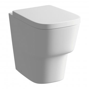 Signature Maya Comfort Height Back To Wall Toilet 350mm Wide - Soft Close Seat