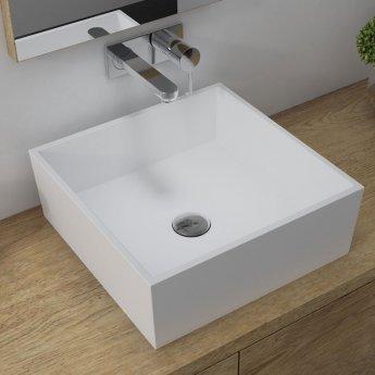 Signature Square Countertop Basin 426mm Wide - 0 Tap Hole