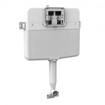 Signature Slim Plastic Concealed Cistern 457mm H x 570mm W - White