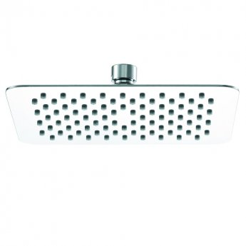 Signature Ultraslim Square Shower Head 200mm x 200mm - Stainless Steel