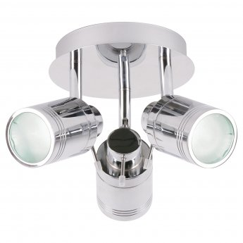 Signature 3 Spotlight Ceiling Light - Silver