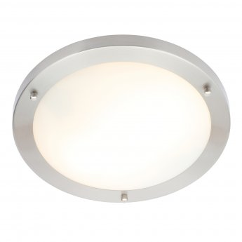 Signature Large Round Flush LED Light - Chrome