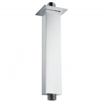 Signature Square Ceiling Mounted Shower Arm 120mm Length - Chrome