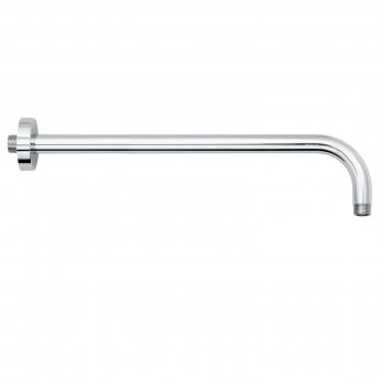 Signature Wall Mounted Round Shower Arm 400mm Length - Chrome