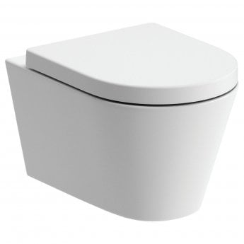Signature Nazca Wall Hung Rimless Toilet - Soft Close Seat