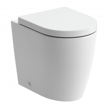 Signature Nazca Back To Wall Toilet 355mm Wide - Soft Close Seat