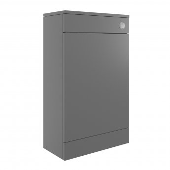 Signature Odense Back to Wall WC Toilet Unit 500mm Wide - Urban Grey