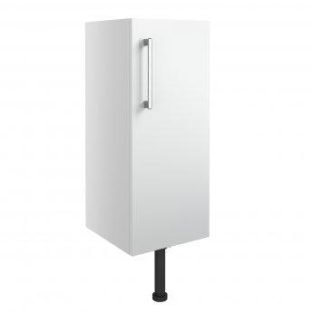 Signature Oslo Floor Standing 1-Door Base Unit 300mm Wide - White Gloss